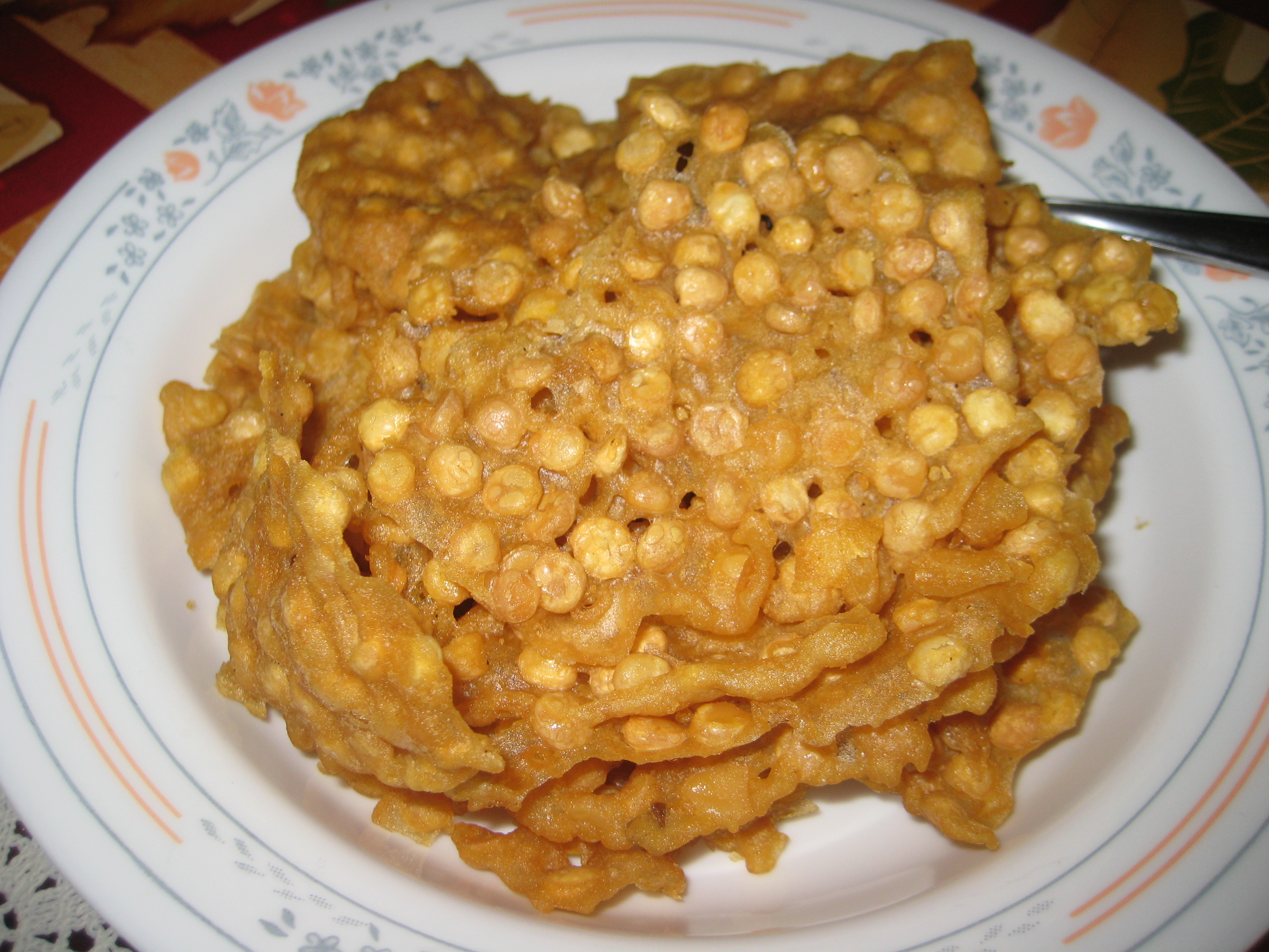 Ohn-no-kauk-swe Fried Chickpeas | TheCultureBite