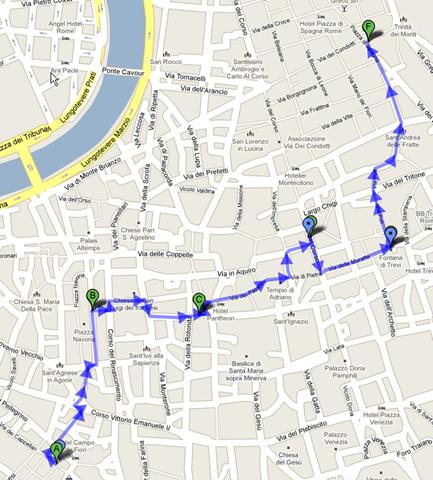 Rome Free Walking Tour Night
