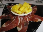 El Patio Espanol Serano Ham and Pineapple